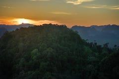 Mountain View del tempio della tigre 5 Fotografia Stock