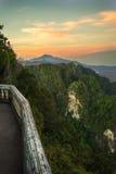 Mountain View del tempio della tigre 6 Fotografia Stock Libera da Diritti