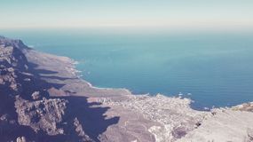 Mountain View del vector Imagen de archivo libre de regalías
