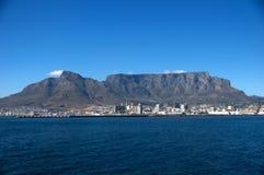 Mountain View del vector, Ciudad del Cabo Suráfrica Fotografía de archivo libre de regalías