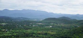 Mountain View della Tailandia Immagine Stock