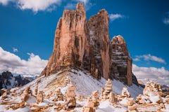 Mountain View delle alpi Immagini Stock Libere da Diritti