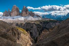Mountain View delle alpi Fotografie Stock Libere da Diritti