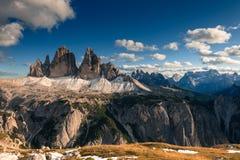Mountain View delle alpi Fotografia Stock Libera da Diritti