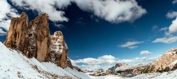 Mountain View delle alpi Immagini Stock