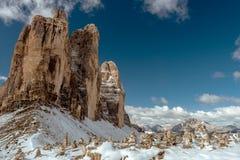 Mountain View delle alpi Fotografia Stock