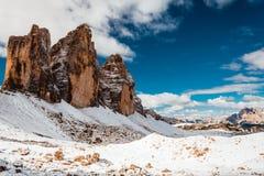Mountain View delle alpi Fotografie Stock