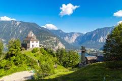 Mountain View delle alpi da Salzberg Immagini Stock