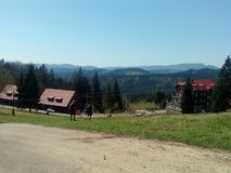 Mountain View di Beskydy Immagine Stock Libera da Diritti