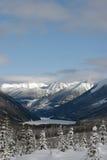 Mountain View di inverno Immagini Stock Libere da Diritti