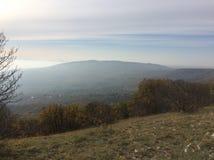 Mountain View di Mecsek Ungheria immagine stock