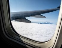 Mountain View di nord-ovest sopra le nuvole immagine stock
