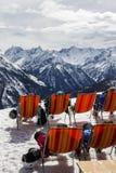 Mountain View di Penkenjoch in Austria, 2015 Immagine Stock Libera da Diritti
