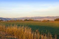 Mountain View di primo mattino Fotografie Stock