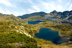 Mountain View di Rila Immagini Stock
