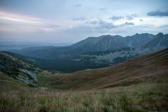 Mountain View di Tatra in Polonia Immagine Stock Libera da Diritti