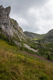 Mountain View di Tatry e trekking Czerwone Wierchy Fotografia Stock