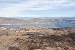 Mountain View do helicóptero Foto de Stock Royalty Free