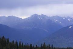 Mountain View do pico de Idaho BC fotos de stock royalty free
