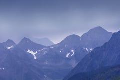 Mountain View do pico de Idaho BC imagens de stock
