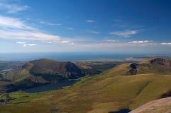 Mountain View du Pays de Galles Photos stock