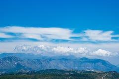 Mountain View Dubornik Kroatien Stockfoto