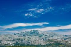 Mountain View Dubornik Kroatien Stockbilder