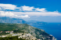 Mountain View Dubornik Kroatien Stockfotografie