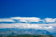 Mountain View Dubornik Kroatien Stockfotos