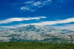 Mountain View Dubornik Kroatien Lizenzfreies Stockfoto
