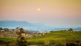 Mountain View e della collina Fotografia Stock Libera da Diritti