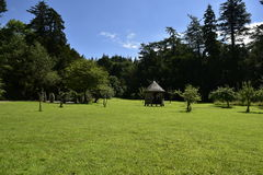 Mountain View e lago foto de stock royalty free