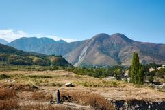 Mountain View em minha viagem imagem de stock royalty free