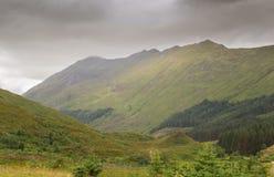 Mountain View em Scotland foto de stock