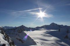 Mountain View em switzerland Foto de Stock Royalty Free