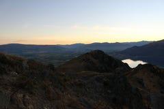 Mountain View em Zealand Nee fotografia de stock royalty free