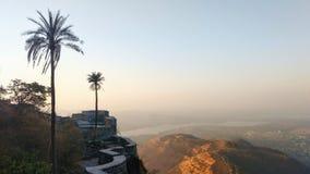 Mountain View en el tiempo del día Foto de archivo