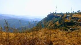 Mountain View en el tiempo del día Fotografía de archivo