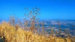 Mountain View en el tiempo del día Imagen de archivo libre de regalías