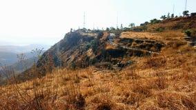 Mountain View en el tiempo del día Fotografía de archivo libre de regalías