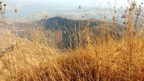 Mountain View en el tiempo del día Fotos de archivo libres de regalías
