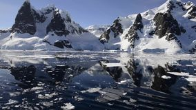 Mountain View en la Antártida metrajes