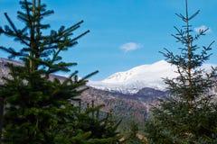 Mountain View en Noruega Foto de archivo