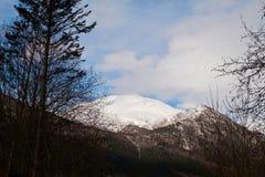 Mountain View en Noruega Fotos de archivo