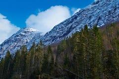 Mountain View en Norvège photos stock