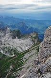 Mountain View en Suiza Foto de archivo