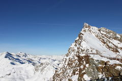 Mountain View en Suiza Foto de archivo libre de regalías