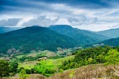 Mountain View en Tailandia Fotografía de archivo libre de regalías