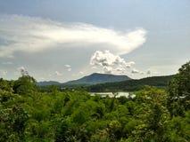 Mountain View en Thaïlande Images stock