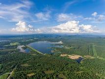 Mountain View en Thiland Imágenes de archivo libres de regalías